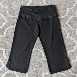 Adidas Climalite cropped wide yoga pants - Small